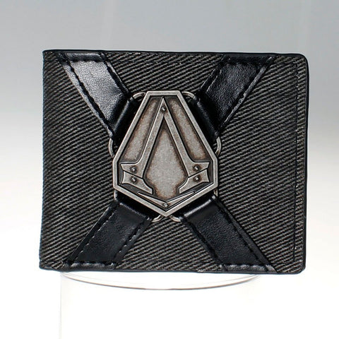 Assassins Creed Logo black  Bi-Fold Wallet