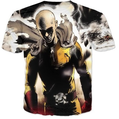 (HOT!) one punch man T shirt Men's FREE SHIPPING
