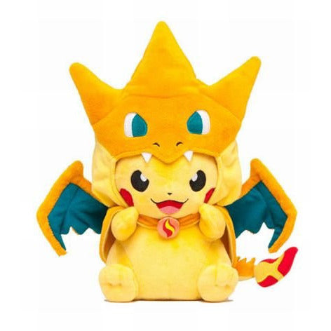 (HOT!) 2 style Pikachu Cosplay Charmander Plush Toy - GamerGift