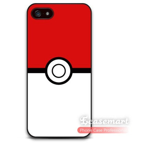 Pokemon PokeBall Case  For iPhone 4 4s 5 5s 5c 6 6 plus