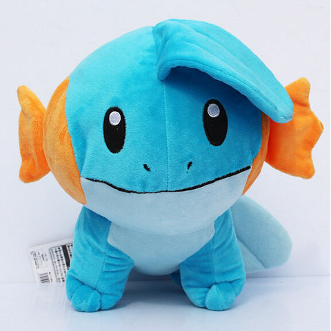 Pokemon Mudkip Plush Toy Stuffed Soft Doll