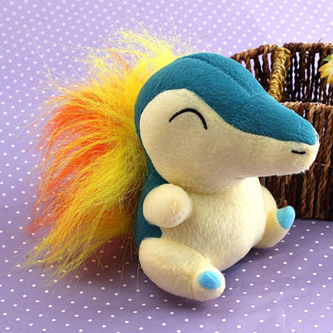 Nintendo Peluche Pokemon Cyndaquil Plush Soft Doll Toy