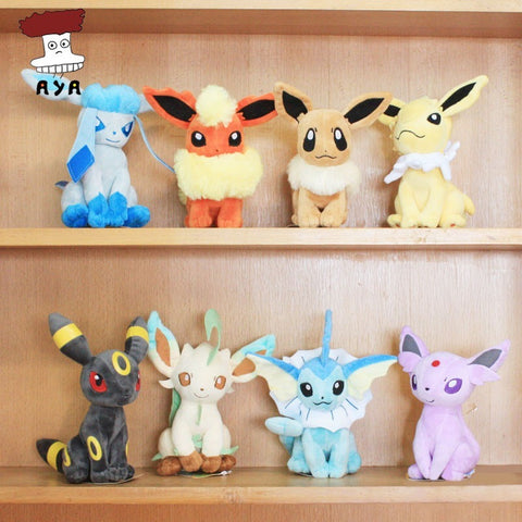 Pokemon Plush Toys 7 Sitting Plush Doll Kids Toys For Children