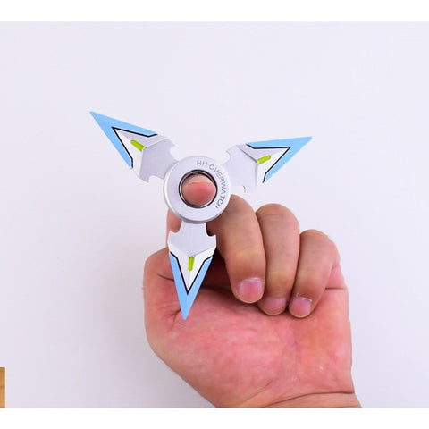 (HOT!) NEW Blue Silver Shuriken , Made of Metal , Silver , 1 Piece , Free Shipping(Note: Currently Shipping is not available to Australia)