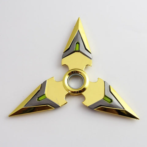 (HOT!) NEW Genji Shuriken , Made of Metal , GOLD, 1 Piece , Free Shipping(Note: Currently Shipping is not available to Australia)
