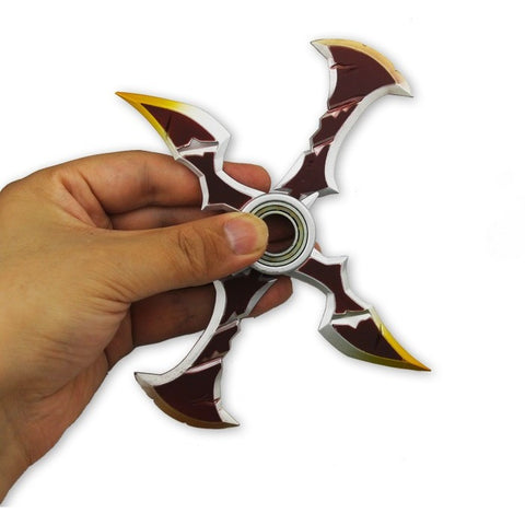 (a Limited Edition!!) Draven Shuriken ,2 Spins!! Made of Metal High Quality - Worldwide Free Shipping