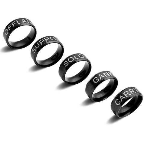 (HOT!!) High Quality Ring With Your Fav Role! Exlusive! , Limited Edition. Worldwide Free Shipping