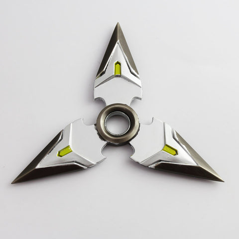 (HOT!) NEW Genji Shuriken , Made of Metal , SILVER , 1 Piece , Free Shipping(Note: Currently Shipping is not available to Australia)