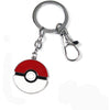 Pocket Monster Pokemon Pikachu Poke Ball Anime Keychain