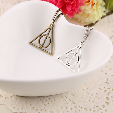 Harry Potter Deathly Hallows Charms Pendant Necklaces