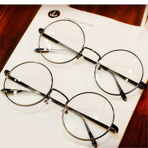 Harry Potter Glasses With Clear Glass Women Men Myopia Optical Transparent Glasses