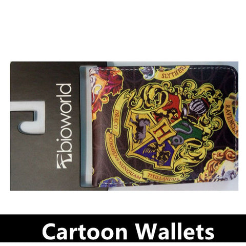 Harry Potter Sherlock Zombies Breaking Superman Purse Credit Oyster License Card Man Wallet