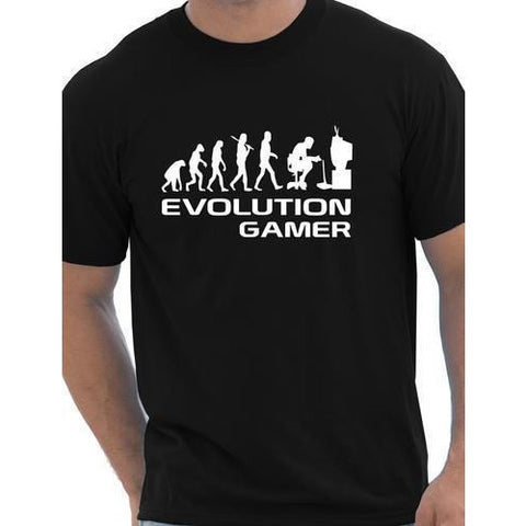 Evolution Of A Gamer PC Geek Gift Funny Mens T Shirt More Size and Colors - GamerGift