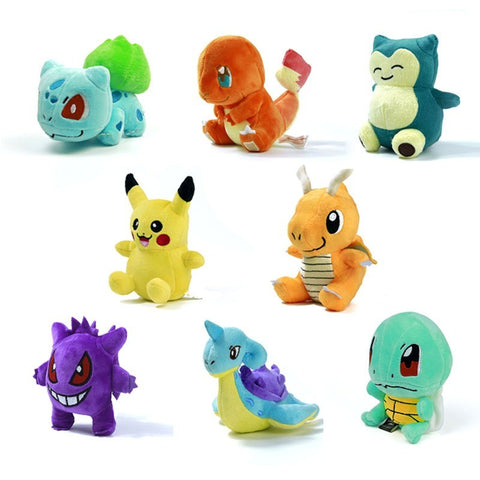 12 Style Mini Pokemon Figure Plush Doll - GamerGift