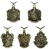 Harry Potter Hogwarts Slytherin School Necklace Bayan Kolye Men Collares