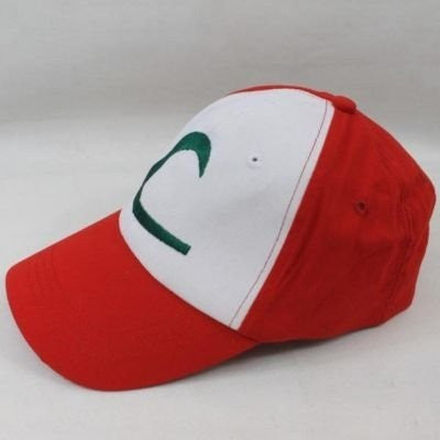 Cap POKEMON ASH KETCHUM COSTUME Cosplay Hat - GamerGift