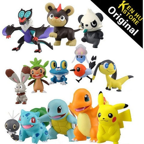 Original Pocket Monster Pokemon cool packaging animal doll