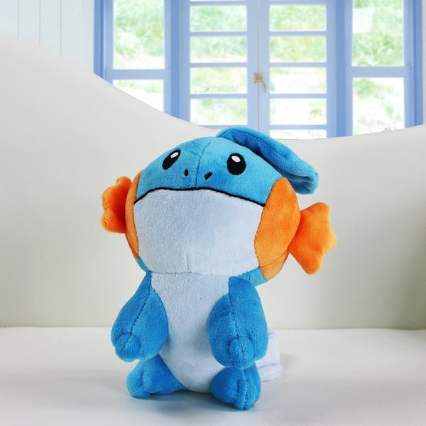 1Pcs Retail Pokemon Plush Toys - Jirachi Totodile Dragonite Charmander Pikachu Mudkip Squirtle Bulbasaur Lugia