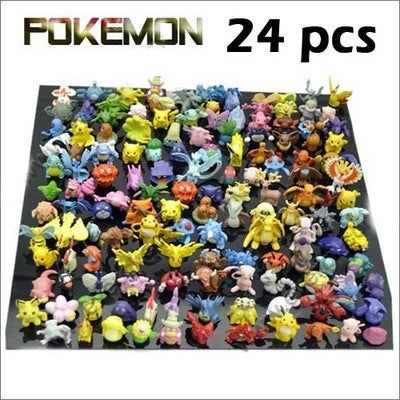 Wholesale Lots 24 pcs Pokemon mini random Pearl Figures