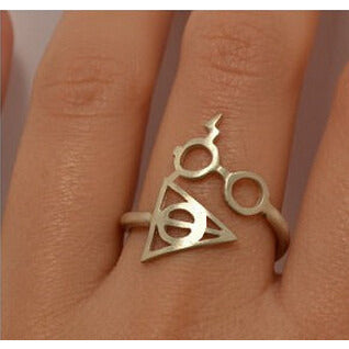 Hot Harry Potter And The Deathly Glasses Artifact Ring For Women