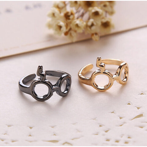 New Fashion Hot Jewelry Harry Potter And The Deathly Glasses Artifact Ring