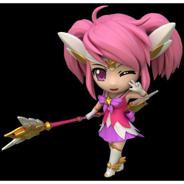 League of Legends figures 4 styles Ashe/Lux/Katarina/Nami
