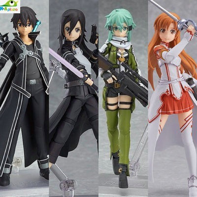 Anime Sword Art Online Figma Kirito Asuna Figure - GamerGift