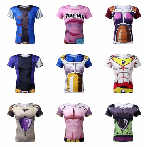Dragon Ball Z Super Saiyan 3d t shirt tees tops - GamerGift