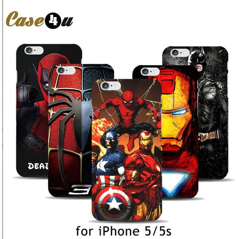 Avengers Hard Case Cover for iPhone
