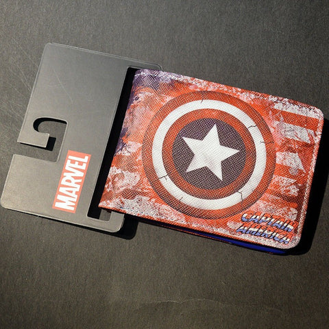 the Avengers card Holder Cartoon Wallet