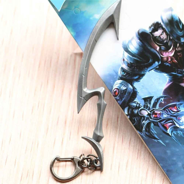 (HOT!) League of Legends High Quality Weapon Pendant Keychain Key Chain FREE SHIPPING