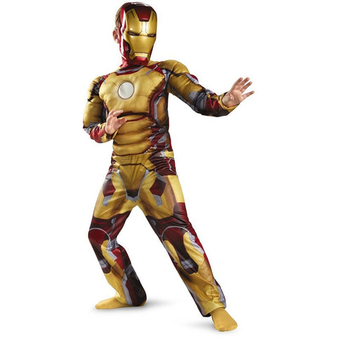 Avengers Iron Man Mark 42 / Patriot Muscle Child Halloween Costume