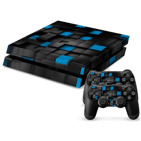 Hot Selling NEW Full Body Decal Skin Sticker Cover For Playstation 4 For PS4 Console 2 Controller