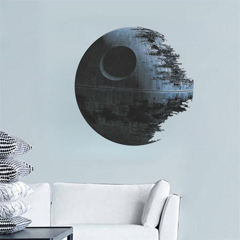 Star Wars Death Star vinyl art wall stickers