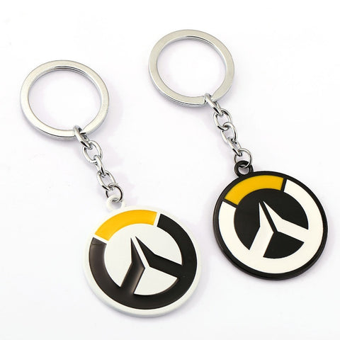 Overwatch Keychain OW Tracer Key Rings