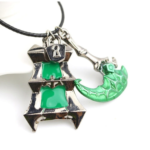 LoL High Quality Thresh Weapon Necklace wordwide FREE shipping