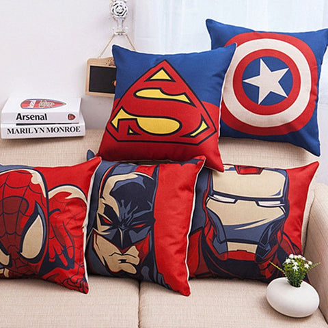 Avengers home decor Throw Pillow Case