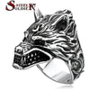 Game Of Throne House Stark of Winterfell Dire wolf Wolf Ring