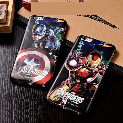Marvel Avengers Spider man Dark Knight Hard Case Cover for iPhone