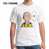 Yo-Young Men T Shirts Anime One Punch Man OK  Tee Shirt Sleeve FREE SHIPPING worldwide.
