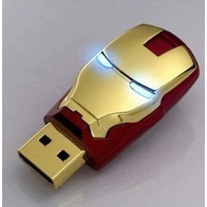 Avengers iron man led usb