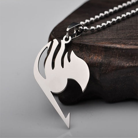 Fairy Tail Necklace Pendant Metal Necklace - GamerGift