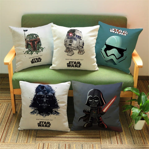 Star Wars Sofa Throw Pillow Cover