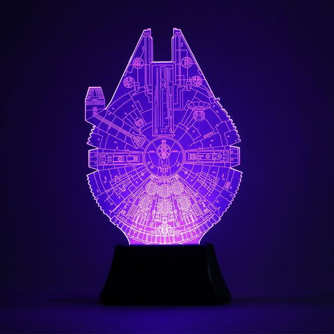 Star Wars Night Light Color Changing Table Lamp