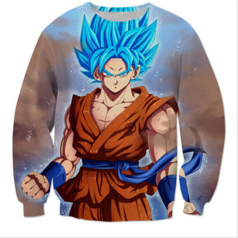 Dragon Ball Z Super Saiyan 3D Goku Sweatshirt - GamerGift