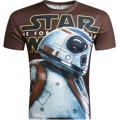 Star Wars Top Hot 3D Tshirt