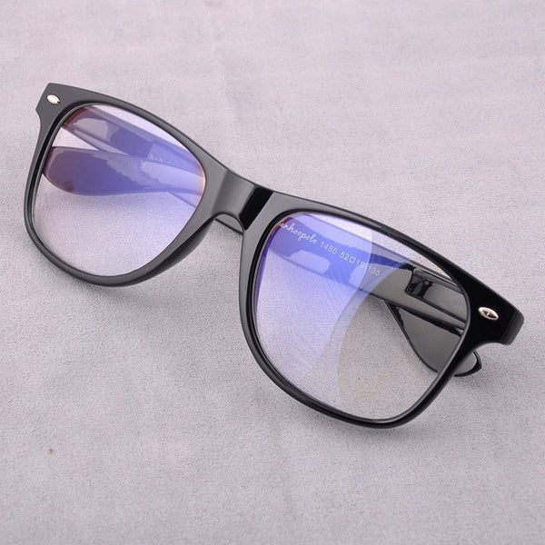 Classic Design Trend Glasses Radiation Resistant Glasses Anti Reflective Lenses Plain Mirror Anti Fatigue Computer Glasses