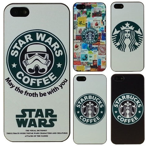 Star wars coffee design phone case for iphone
