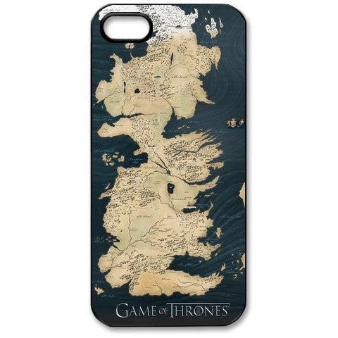 Game of Thrones Map Case Cover for Iphone