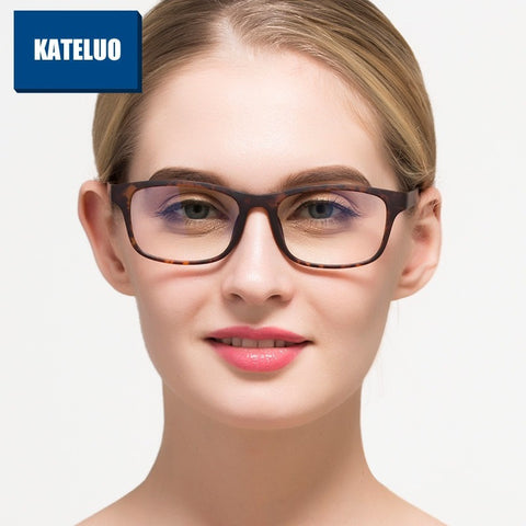 TR90 Anti Computer Blue Laser Fatigue Radiation-resistant Eyeglasses